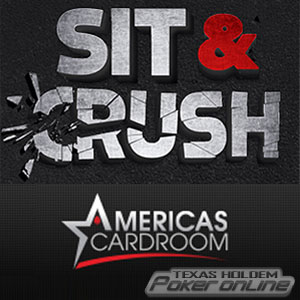 Americas Cardroom Introduces Sit n Crush Promotion