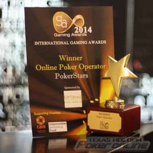 PokerStars Wins Online Poker Operator of the Year Again