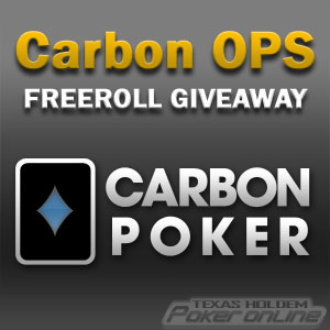 Carbon Poker Offering Freeroll Route into OPS Main Event