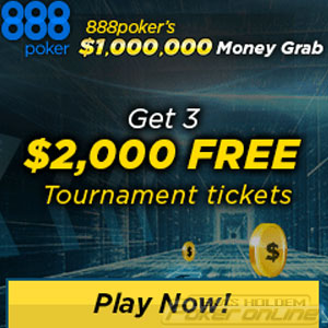 Win $1 Million in 888Poker´s Money Grab Promotion