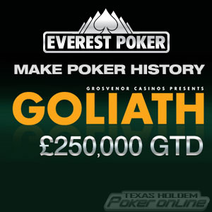 Everest Poker GUKPT Goliath Packages