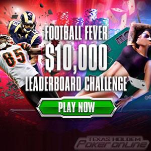 BetOnline Poker Football Fever Leaderboard Challenge