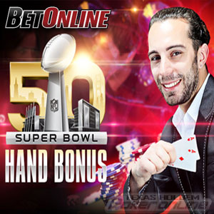 BetOnline Super Bowl Poker Promo