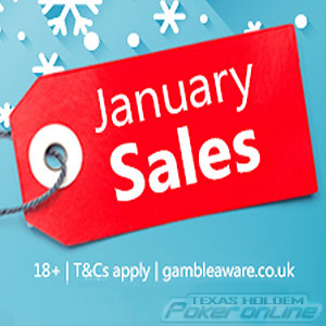 iPoker January Sale