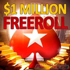 PokerStars $1 Million Freeroll Tournament