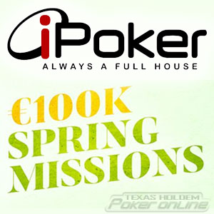 Spring Missions on iPoker
