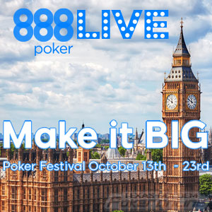 London Live Festival at 888Poker