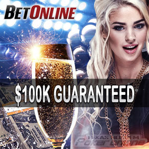 $100K New Year's Guaranteed Tournament at Betonline