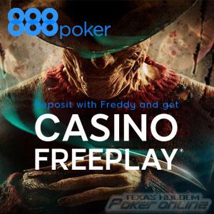 Freaky Friday freeplay casino bonus at 888