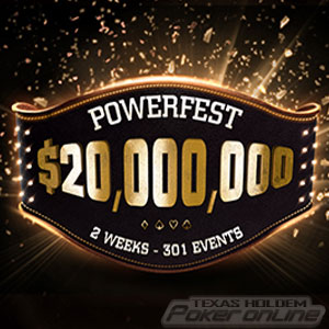 $20 Million Powerfest at Party Poker