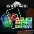 Everest Poker Lights Up the Sky with Firework Missions