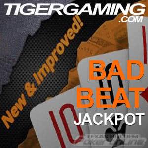 Tiger Gaming's Bad Beat Jackpot