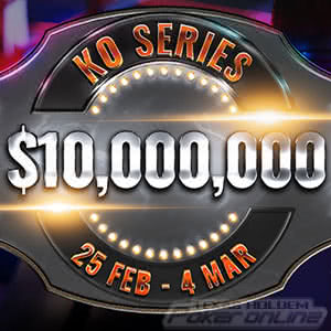 $10 Million Knockout Series at Party Poker