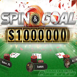 Spin & Goal at PokerStars