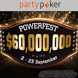 Powerfest September 2018 at Party Poker