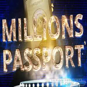 $500,000 MILLIONS Passport at Party Poker
