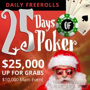 25 Days of Poker Xmas Promo at BetOnline