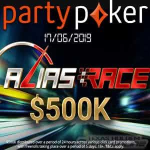 Alias Race Party Poker Tournament