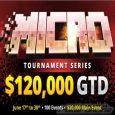 BetOnline Poker to Host $120K GTD Micro Tournament Series