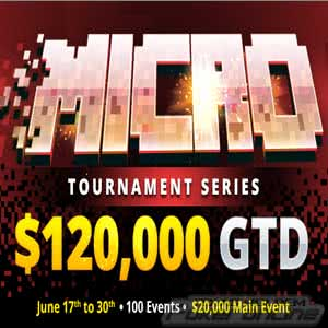 $120K GTD Micro Tournament Series