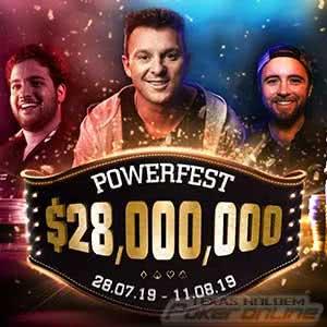 Party Poker Powerfest July 2019